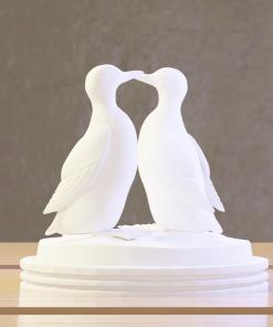 Fichier : Figurines Duo de Guillemot (oiseau) au format numérique