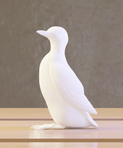 Figurines Solo de Guillemot (oiseau) au format numérique