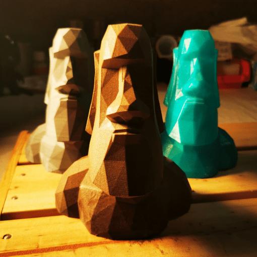 Statues de l'île de Pâques - Moaï