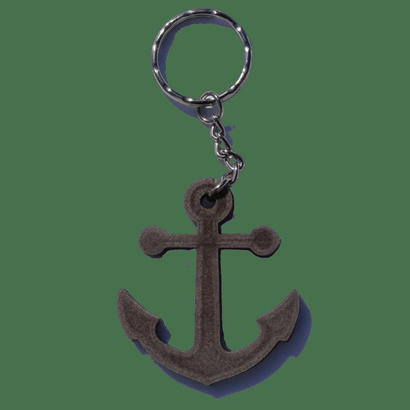 Porte-clé ancre marine