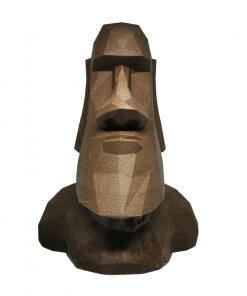 Moaï - Statues de l'île de Pâques en bois avant