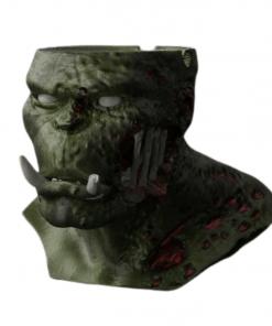 Fichier 3D Orc Zombie Cendrier face