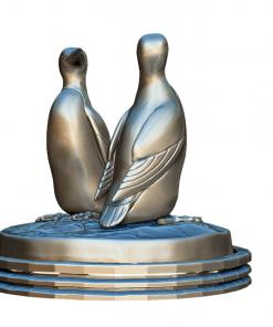 Fichier : Figurines Duo de Guillemot (oiseau) au format numérique coté