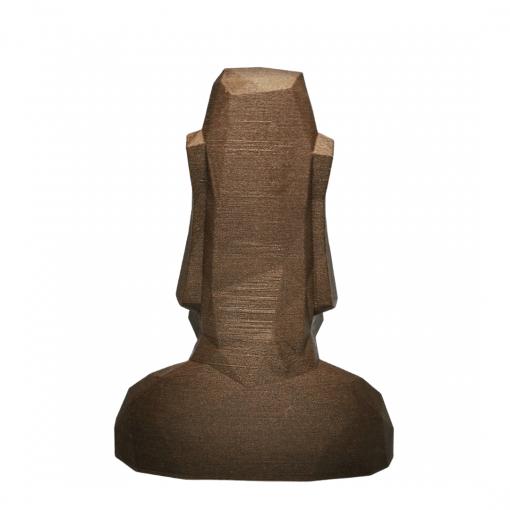 Moaï - Statues de l'île de Pâques en bois arrière