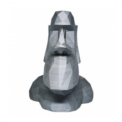 Moaï - Statues de l'île de Pâques en aluminium