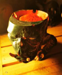 Cendrier Orc zombie en impression 3D