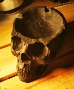 Cendrier crâne humain en impression 3D