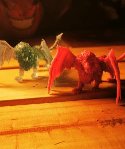 Figurines Manticore en impression 3D