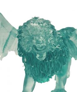 Figurines Manticore en impression 3D avant zoom