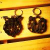 Porte-clés Animaux géométrique en impression 3Dux géométrique en impression 3D