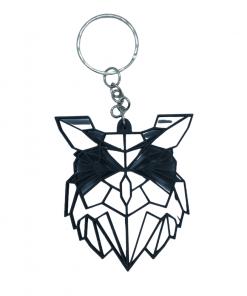 Porte-clés Animaux géométrique en impression 3D chouette
