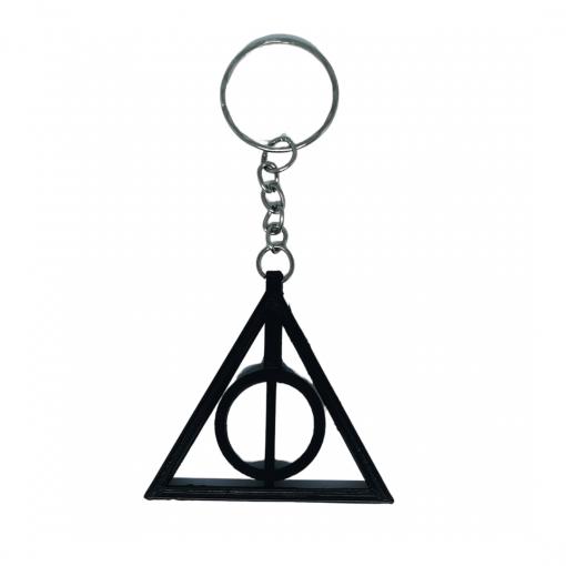 Porte-clés Symbole reliques de la mort Harry Potter seul