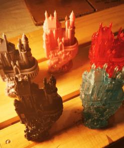 Reproduction Chateau fantasy en impression 3D