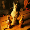 Reproduction Egypte Anubis en impression 3D