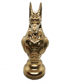 Reproduction Egypte Anubis en impression 3D face avant