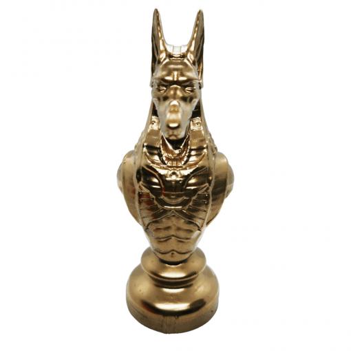 Reproduction Egypte Anubis en impression 3D face avant