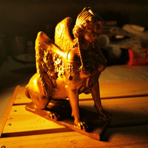 Statues Sphinx (mythologie grecque)