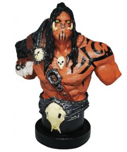 Statues World of Warcraft - Grommash Hurlenfer face