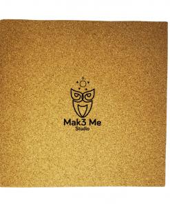Logo Mak3 Me Studio gravure laser